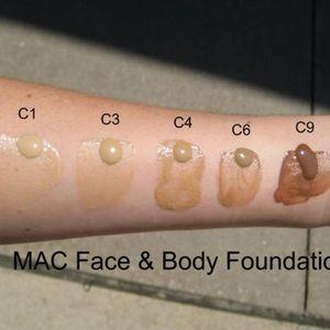 MAC Cosmetics Makeup - MAC | C4 Face & Body Foundation
